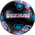 Vizari Retro Hearts Soccer Ball (BLK)