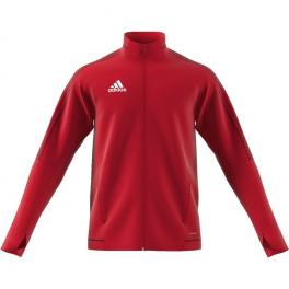 664e6dc5f Adidas Tiro 17 Training Jacket Youth (RED) - House of Soccer