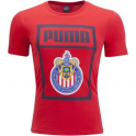 Puma Chivas Logo Tee Red (1819)
