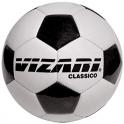 Vizari Classico Soccer Ball (BLKWHT)