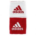 Adidas Interval Reversible Wrist Band (REDWHT)